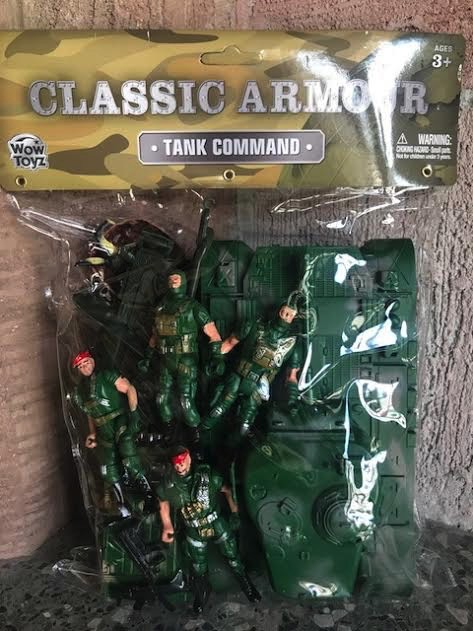 Classic Armour Tank Command Playset