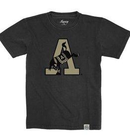 Youth Kicking Mule/Vintage Wash T-Shirt (League)