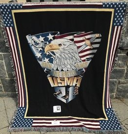 Class of 2021 Crest Throw Blanket (52 x 74 inches)