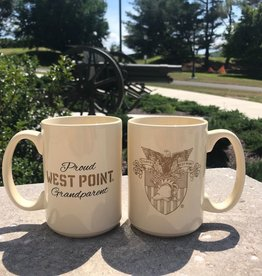 Proud West Point Grandparent Mug (15 ounce)