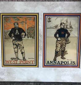 Football at West Point: Army and Annapolis (Matted, 8 by 10 inches)
