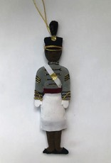 Female Cadet Ornament/Tarbucket/ (St. Nicholas Co.)