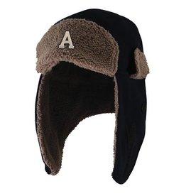"""Klondike Trapper Hat with Block """"A"""""""