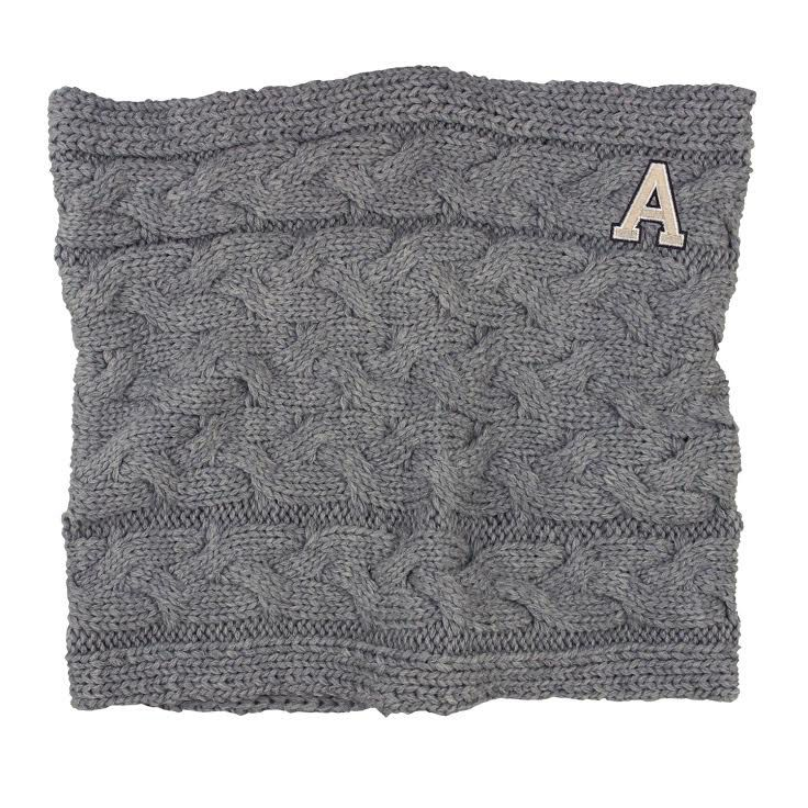 Alpine (Cable Knit Cowl Neck Scarf)