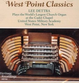 West Point Classics CD (World's Largest Church Organ at Cadet Chapel)