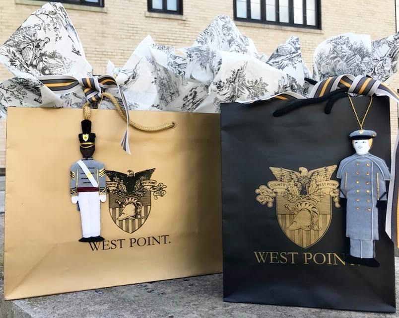 """Gold West Point Crest Gift Bag (10 x 13"""")"""