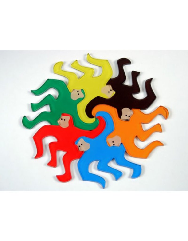 GATO Monkey Magnets (Set of 6)