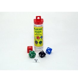 GATO Platonic Dice Set