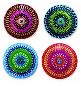 HOME Moire Coaster set of 4