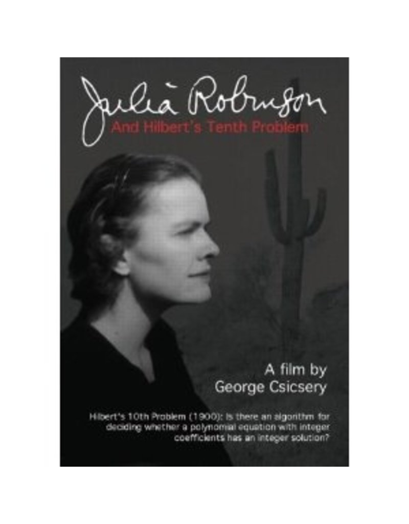 BODV Julia Robinson and Hilbert's Tenth Problem (DVD)
