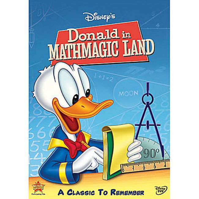 BODV Donald Duck in Mathmagic Land (DVD)