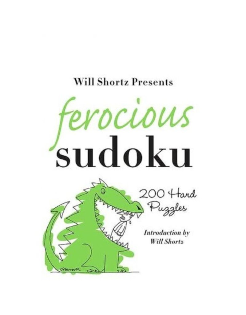 BODV Will Shortz Presents: Ferocious Sudoku