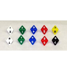 GATO 8-Sided Dice Pack of 10