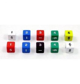 GATO Set of 10 cubic dice