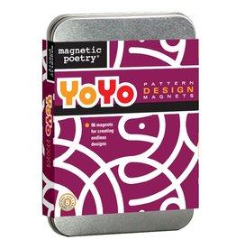 HOME YoYo Pattern Design Magnets