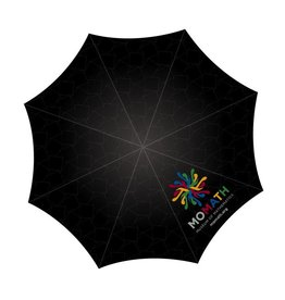 HOME MoMath Logo Golf Umbrella