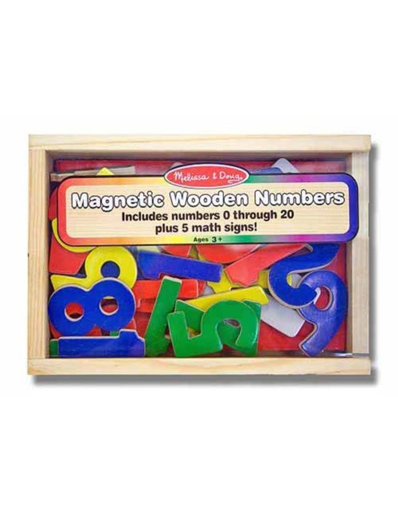GATO Magnetic Wooden Numbers