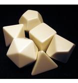 GATO Blank Polyhedral Dice Set