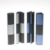 HOME Rollover Mini Pen/Magnifier Case - Metallic Blue/Black/Silver