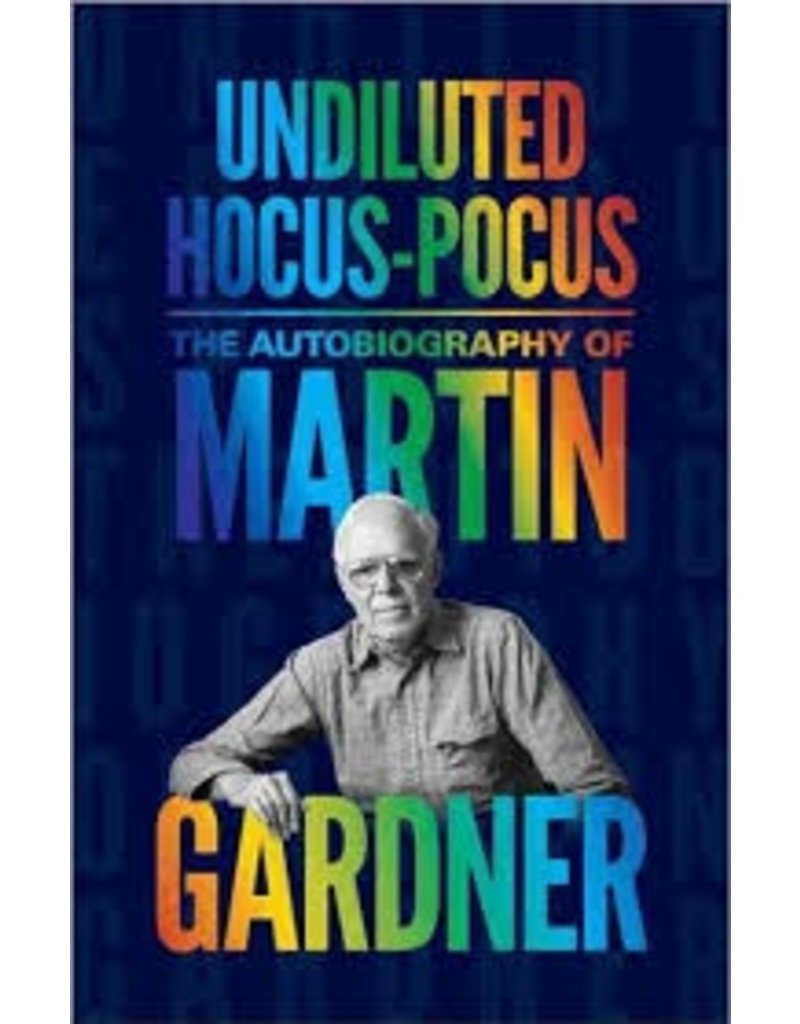 BODV Undiluted Hocus Pocus: The Autobiography of Martin Gardner