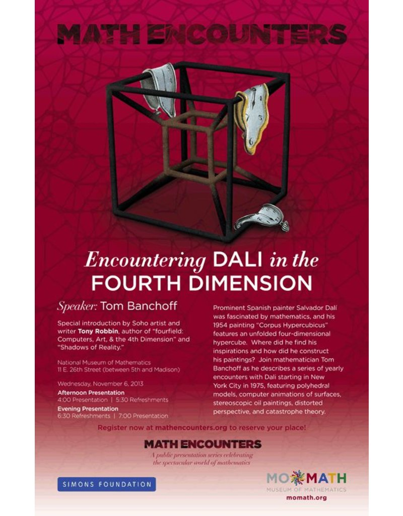 BODV Math Encounters | Encountering Dali in the Fourth Dimension DVD