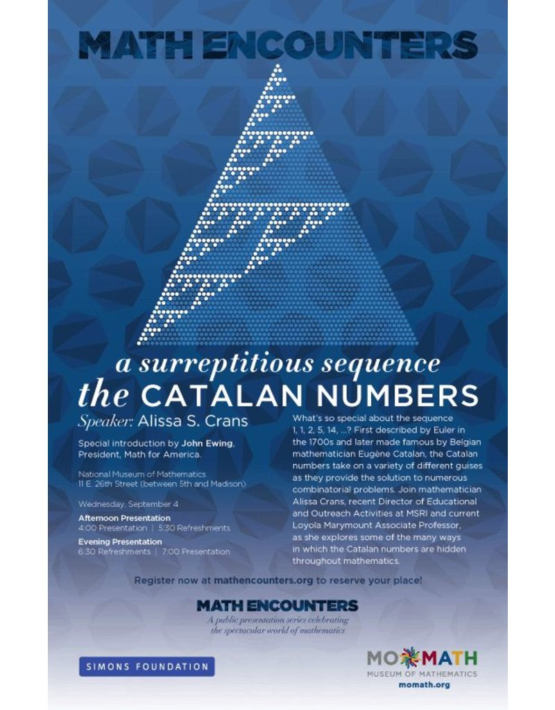 BODV Math Encounters | A Surreptitious Sequence DVD