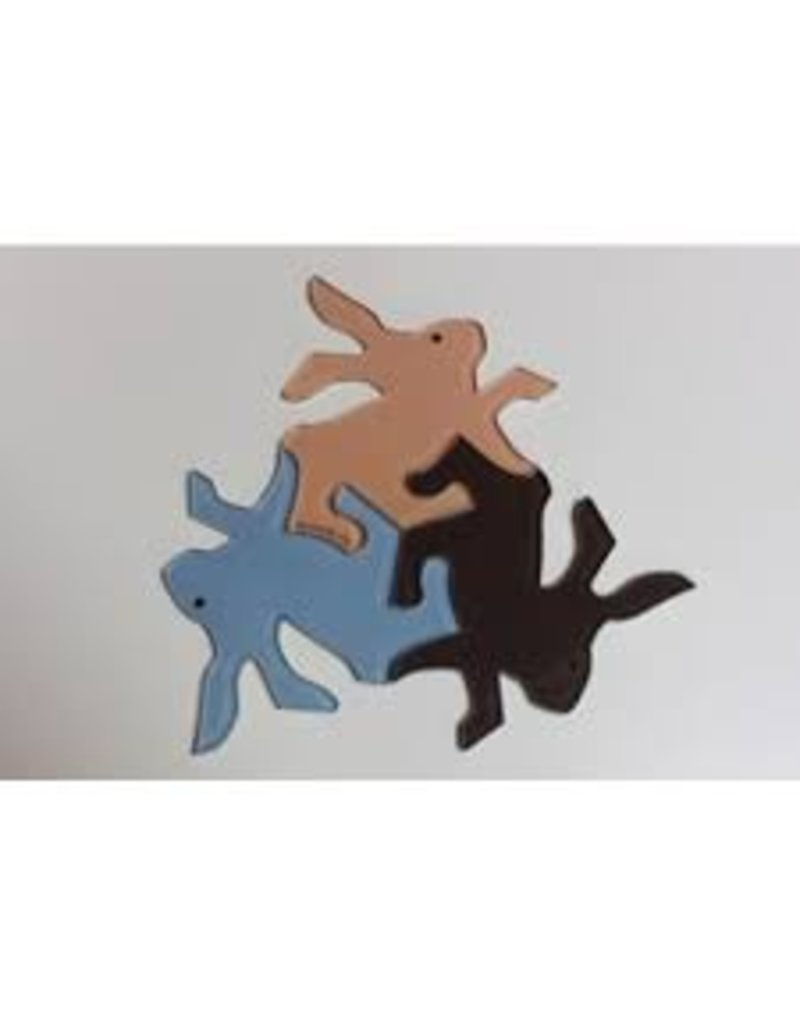 TRIN Rabbit Magnets (Set of 3)