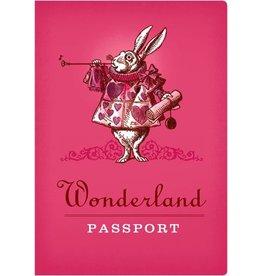 TRIN Wonderland Passport Notebook