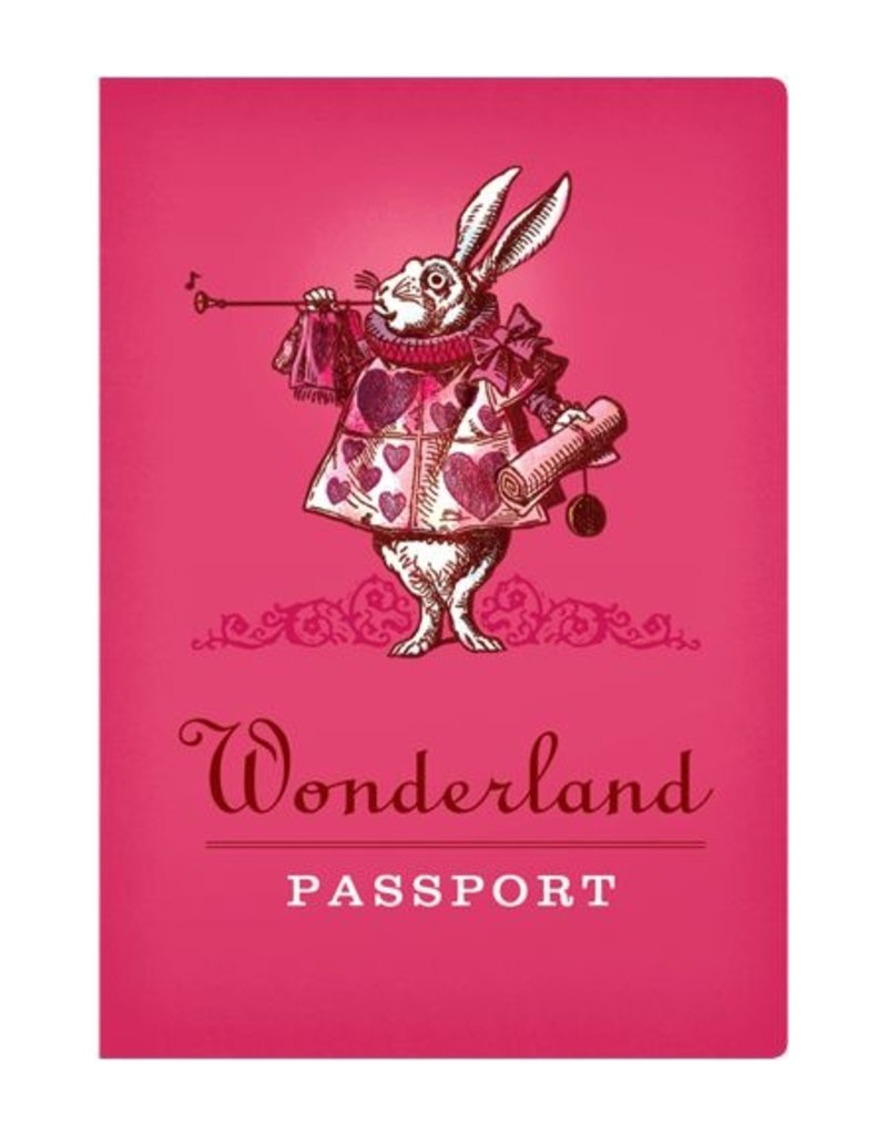 GIFT Wonderland Passport Notebook