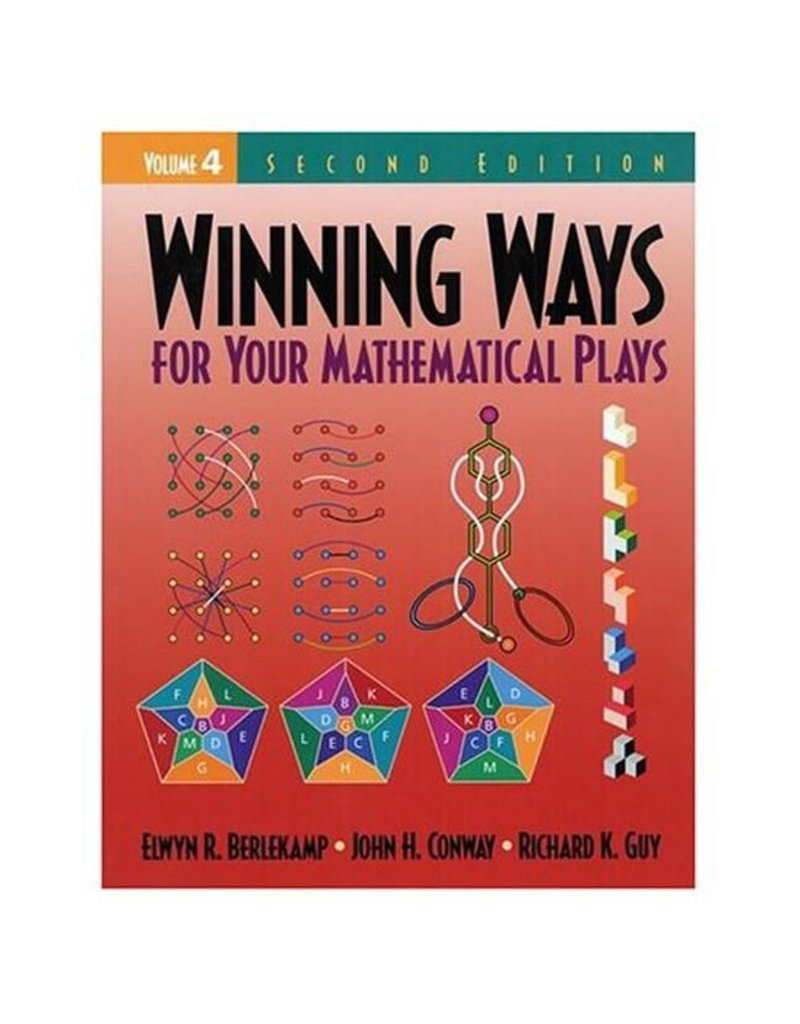 BODV Winning Ways for Your Mathematical Plays, Volume 4