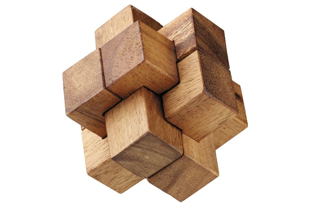 GATO Regular Burr Puzzle