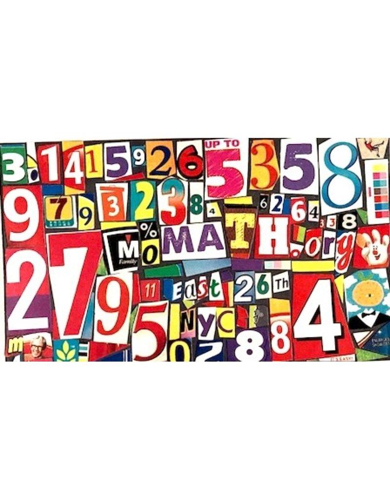 ARTS MoMath Pi Postcard