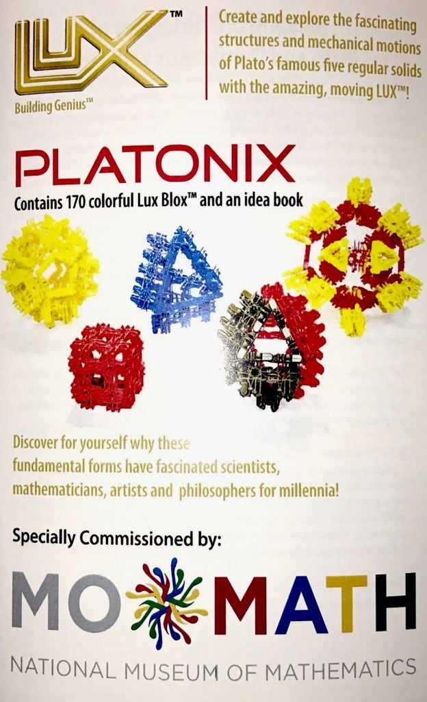 GATO MoMath Platonix Build Set - 170 Piece Set | LUX