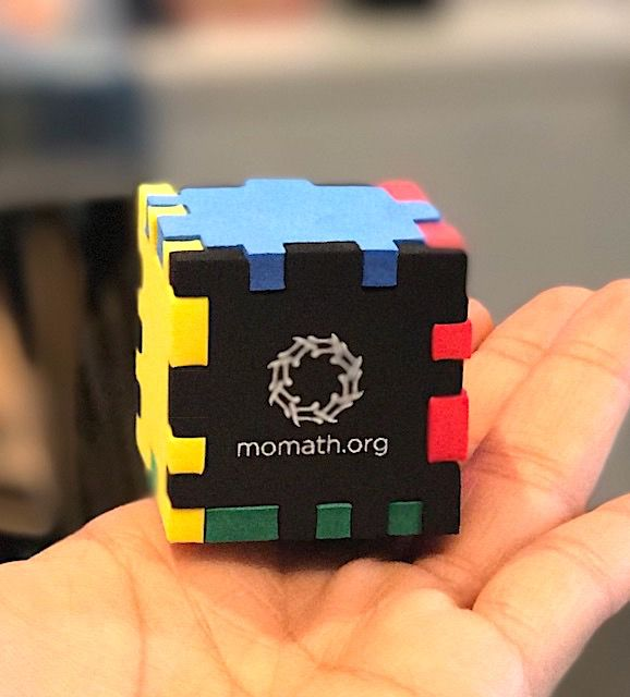 PUZZ MoMath Foam Cube Puzzle