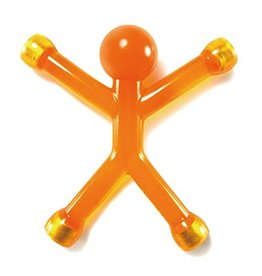 HOME Large 5 Inch Q Man - Orange & Purple
