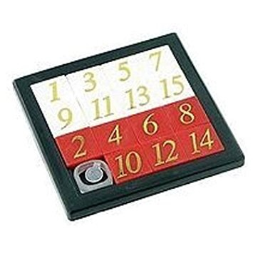 GATO Number Slide Puzzle
