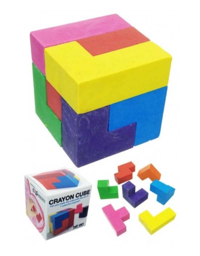 GATO Crayon Cube Puzzle