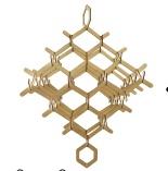 HOME Diamond Mobile - Wood