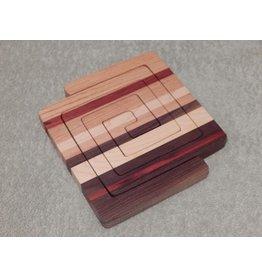 HOME Kara Wood Designs   Trivet or Two - Square
