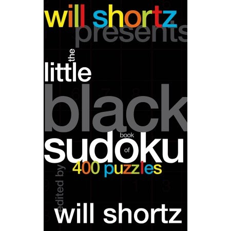 BODV Will Shortz: The Little Black Book of Sudoku Puzzles