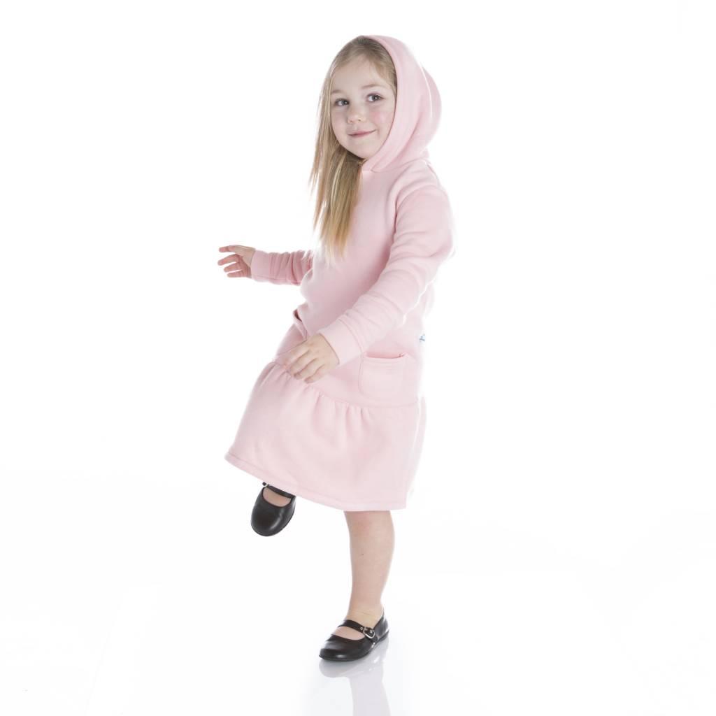 Kickee Pants Dress - Long Sleeve Fleece Hoodie Dress