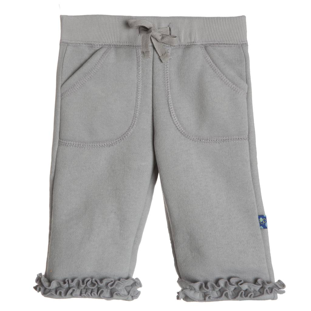 Kickee Pants Sweatpants - Solid Ruffle Sweatpant