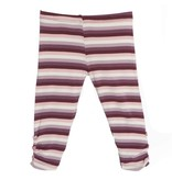 Kickee Pants Leggings - Print - PRINT LEGGING WITH HEART BUTTONS DINO STRIPE