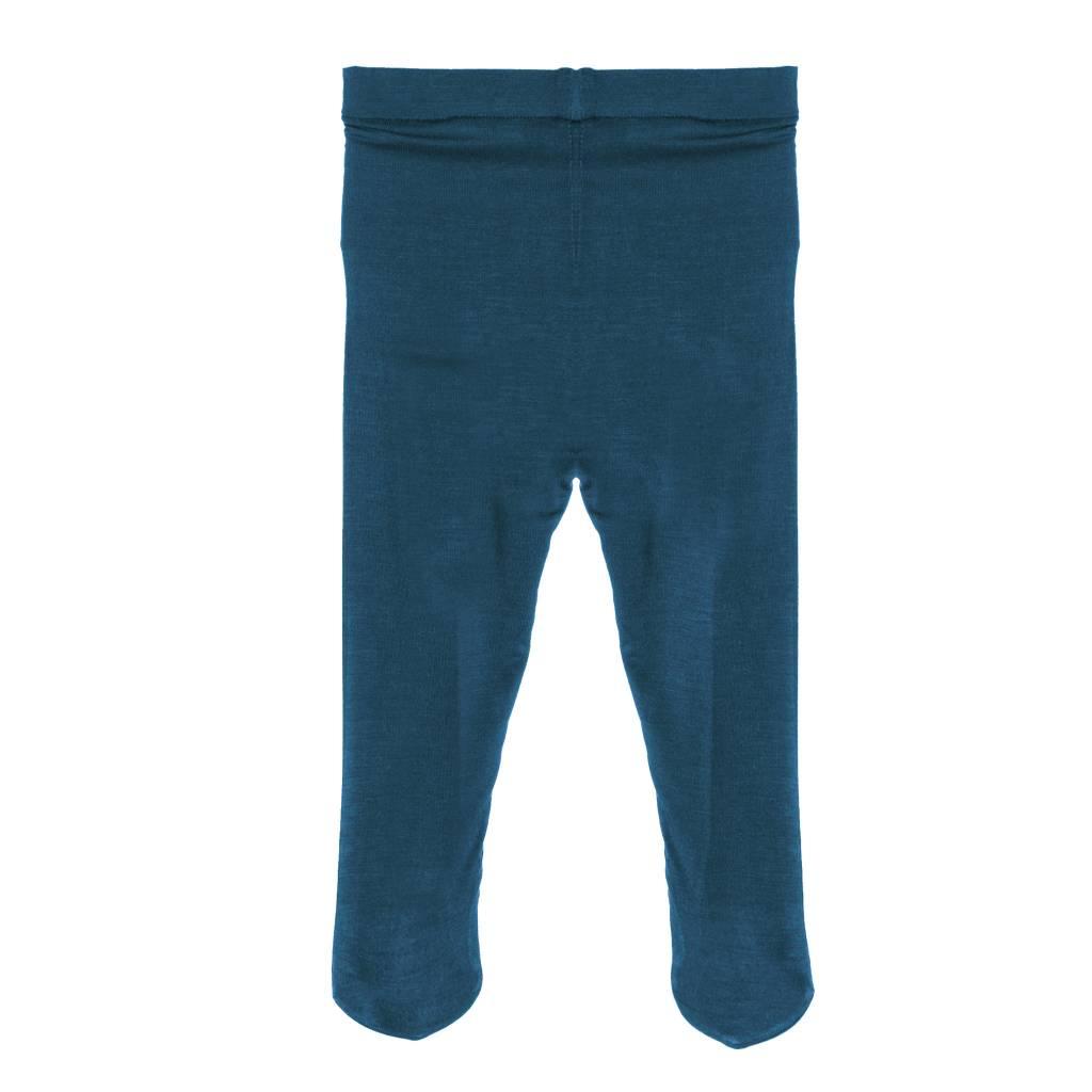 Kickee Pants Tights - Solid Girl Tights Peacock -
