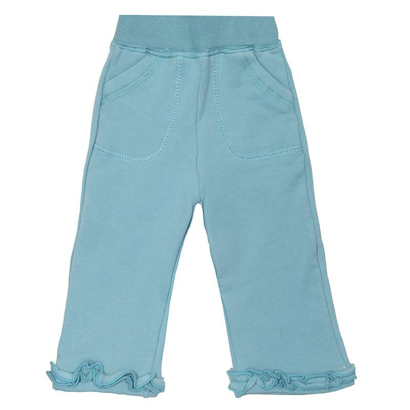 Kickee Pants Sweatpants - Ruffle Sweatpant (Glacier -