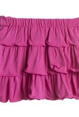 Kickee Pants Skirt - Child - Solid Layered Ruffle Skirt (Bubblegum - 6 Years)