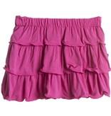 Kickee Pants Skirt - Child - Solid Layered Ruffle Skirt (Bubblegum - 7 Years)