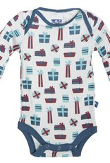 Kickee Pants Onesie - Long sleeve one piece -