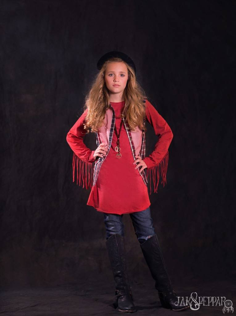 Jak & Peppar Top - ALL FRINGED OUT TOP
