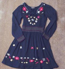 Jak & Peppar Dress - Endless Love Dress: Navy Bean
